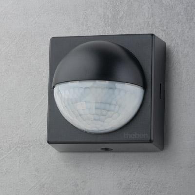 Bewegungsmelder theLuxa R180 BK grauer Hintergrund