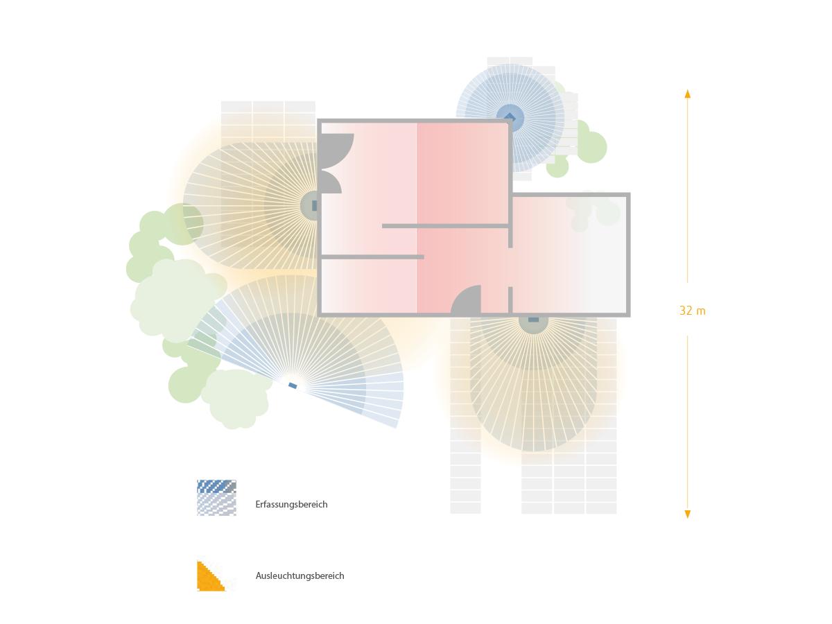 Einfamilienhaus Grafik