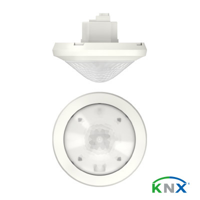 KNX-Präsenzmelder ThePassa P360 KNX UP WH