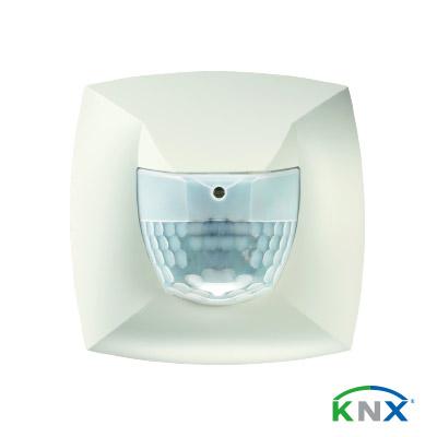 Präsenzmelder-PresenceLight-180B-KNX-WH_mit-Logo_farbig