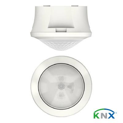 Präsenzmelder-theRonda-S360-KNX_mit-Logo_farbig