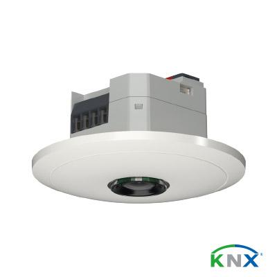 Präsenzmelder-thePixa-P360-KNX_mit-Logo_farbig